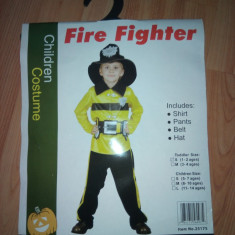 Costum Pompier 4-14 ani