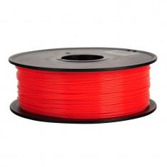 Filament Flexibil pentru Imprimanta 3D 1.75 mm 0.8 kg - Rosu
