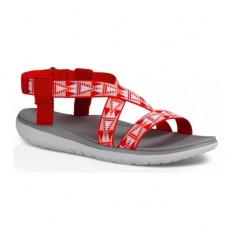 Sandale pentru femei Teva Terra-Float Livia Mosaic Red (TVA-1009807-MORD) - Sandale dama Teva, Culoare: Rosu, Marime: 36, 37, 38, 39, 40