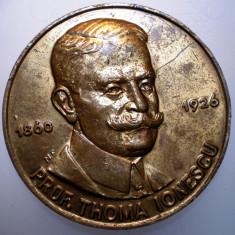 5.174 ROMANIA MEDALIE PROFESOR THOMA IONESCU MEDICINA CENTENAR CHIRURGIE 1998 - Medalii Romania
