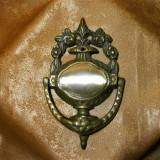 Dispozitiv ciocanit usa DoorKnocker, Baroc Victorian bronz masiv (2)