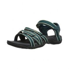 Sandale pentru femei Teva Tirra Teal/Dark Shadows (TVA-4266-TDSH) - Sandale dama Teva, Culoare: Verde, Marime: 36, 37, 38, 39, 40