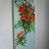Flori 2-pictura ulei pe panza;Macedon Luiza - Pictor roman, Altul