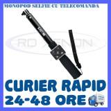 MONOPOD SELFIE CU TELECOMANDA SJCAM M20, SJ6 LEGEND, SJ7 STAR - Selfie stick