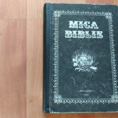 MICA BIBLIE-PARINTELE TEOCTIST - Biblia