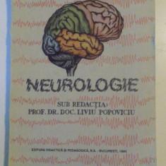 NEUROLOGIE, SUB REDACTIA LIVIU POPOVICIU, 1993