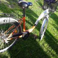 Bicicleta - Bicicleta de oras, 26 inch, Numar viteze: 3