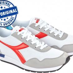 Pantofi sport Diadora Breeze pentru barbati - adidasi originali - alergare - Adidasi barbati Diadora, Marime: 42.5, 43, 44.5, Culoare: Alb, Textil