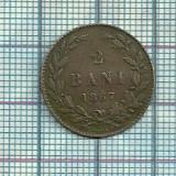 Moneda 2 BANI 1867 -HEATON - Moneda Romania