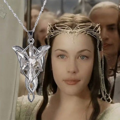 Lantisor, Colier, Pandativ, Lord of the rings ARWEN EVENSTAR - Colier fashion