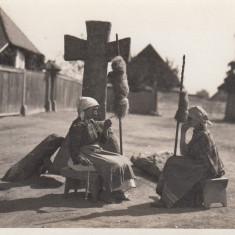 TRANSILVANIA, SECUIME, DUMINICA PE STRADA, FOTO. ORIG. J.FISCHER, 1931 SIBIU - Carte Postala Transilvania dupa 1918, Necirculata, Fotografie
