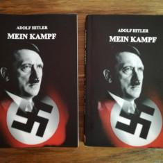 MEIN KAMPF - ADOLF HITLER varianta NECENZURATA in 2 volume ( Editie completa )