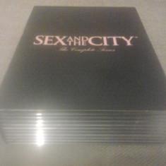 Sex and the city - Season 4, 5, 6 - 45 ep - DVD [B, C] - Film serial, Drama, Engleza