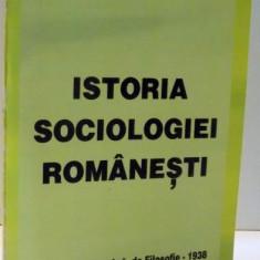 ISTORIA SOCIOLOGIEI ROMANESTI de TRAIAN HERSENI, 2007 - Carte Sociologie