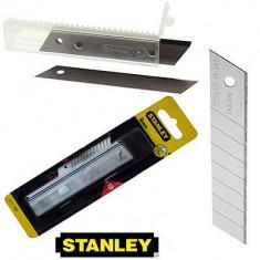 Set 10 lame segmentate de 9 mm STANLEY - Cutter