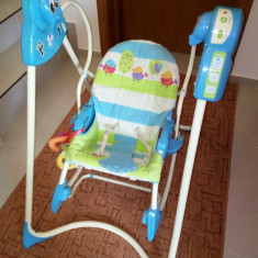 Leagan Fisher-Price 3in1 Swing 'n Rocker - Balansoar interior Fisher Price, Multicolor
