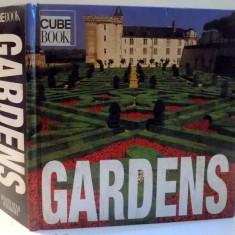 GARDENS, CUBE BOOK