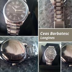 Ceas Barbatesc Clasic&Casual Longines+cutie cadou, Quartz