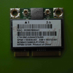 Placa de retea Wireless HP Probook 6550b