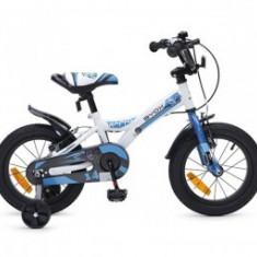 Bicicleta Copii ByoxRAPID 14 inch Albastru