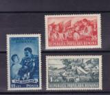 ROMANIA  1951  LP 279  PIONIERI  SERIE MNH, Nestampilat
