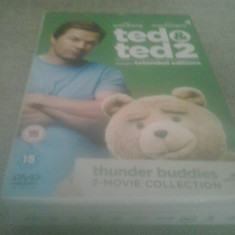 Ted and Ted 2 - thunder buddies two movie collection - DVD [B] - Film serial, Comedie, Engleza