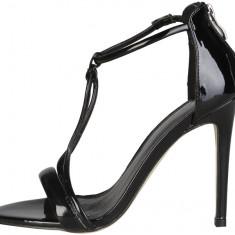 Sandale Versace 1969-Odette.Marimea 38 - Sandale dama Versace, Culoare: Negru