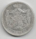 2 LEI 1876  ARGINT STARE BUNA SPRE FOARTE BUNA