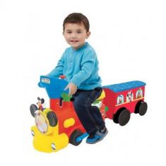 Trenulet Electric Mickey Choo Choo cu Sine