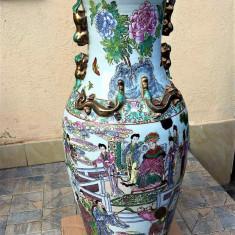 CHINA VAZA MARE 95 CM RARITATE - Portelan, Vaze