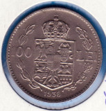 (R) MONEDA ROMANIA - 100 LEI 1938, REGELE CAROL II, LIVRARE IN CARTONAS, RARA
