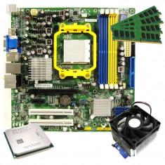 Kit AMD Athlon II X2 250 3GHz+Placa Foxconn RS780M03A1+RAM 4GB GARANTIE 1 AN !!! - Placa de Baza, Pentru AMD, AM2+, DDR2, Contine procesor, MicroATX