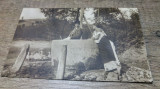 Cioban si tarancuta la fantana/ colectia A. Bellu, Carte postala, C.P., CP,, Circulata, Fotografie