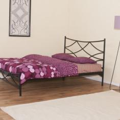 Pat fier forjat Dana (cu tablie mica) 1800x2000 - Pat dormitor
