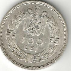 100 LEI 1932 ARGINT STARE EXCELENTA - Moneda Romania