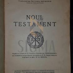 GALACTION GALA (TRADUCEREA PARINTELUI GRIGORIE) - NOUL TESTAMENT, 1927 - Carti Istoria bisericii