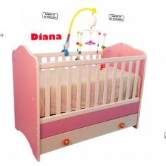 Patuturi Copii Din Lemn Cu Sertar Diana Maredi Kids produs in ROMANIA