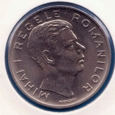(R) MONEDA ROMANIA - 100 LEI 1943, MIHAI I, STARE FOARTE BUNA