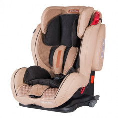 Scaun Auto Sportivo Only cu Isofix 9-36 kg Bej - Scaun auto copii, 1-2-3 (9-36 kg)