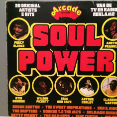 SOUL POWER - VARIOUS ARTISTS (1976/ARCADE/RFG) - Vinil/Analog/Impecabil(NM-) - Muzica R&B universal records
