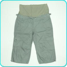 Pantaloni ¾ gravide, bumbac, subtiri, practici, de calitate, TCM → femei | m. 38