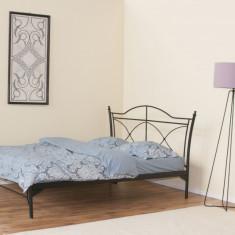 Pat fier forjat Dorian (tablie mica) 1800 x 2000 - Pat dormitor
