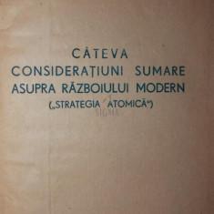 STRATEGIA ATOMICA - LT . - COLONEL ING . VALTER ROMAN