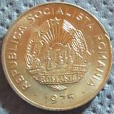 Moneda 15 Bani - ROMANIA, anul 1975 *cod 5062  Allu - UNC, Aluminiu