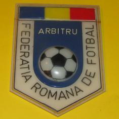 Ecuson (vechi) fotbal - Arbitru Federatia Romana de Fotbal