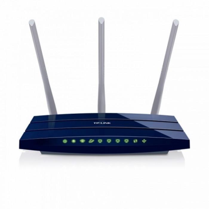 Router wireless TP-Link Gigabit 450 Mbps TL-WR1043ND foto mare