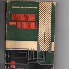 CARBURATOARE PENTRU AUTOMOBILE - VIRGIL DUMITRESCU