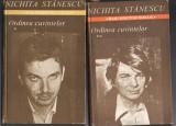 ORDINEA   CUVINTELOR  -  NICHITA  STANESCU - 2 volume