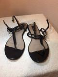 Sandale Zara, 37, Negru