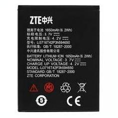 Acumulator ZTE Blade 3 / Blade C / V970 Li3716T42P3h594650 1600mAh original st, Li-ion